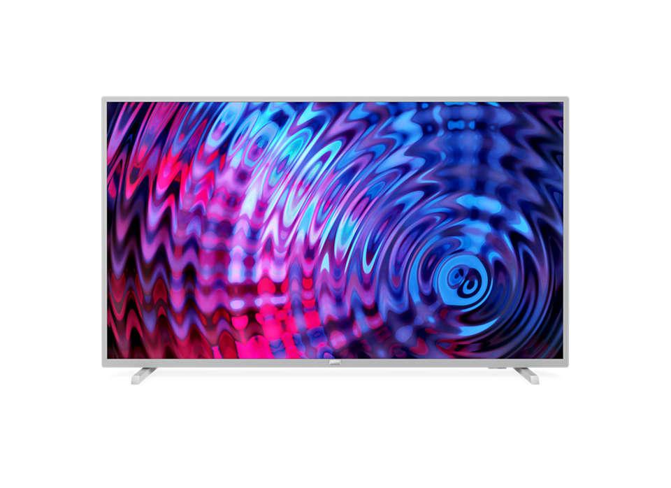 Ultraslanke Full HD LED Smart TV