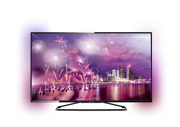 Smart TV màn hình LED mỏng Full HD