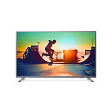 50PUD6513/54  Smart TV LED 4K UHD ultradelgado