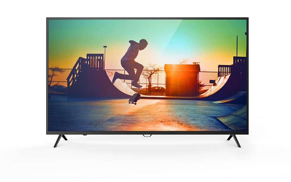 4K 超薄智能 LED 电视