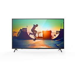 6000 series 4K 超薄智能 LED 电视