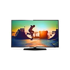50PUS6162/12  Ultraflacher 4K Smart LED-Fernseher