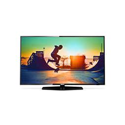 6000 series Svært slank 4K Smart LED-TV
