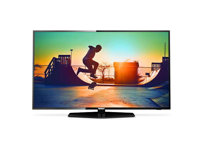 Smart, ultratunn LED-TV med 4K