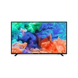 6000 series Ļoti plāns 4K UHD LED Smart TV