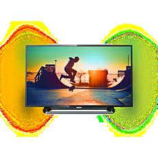 50PUS6262/12  Erittäin ohut 4K Smart LED -TV