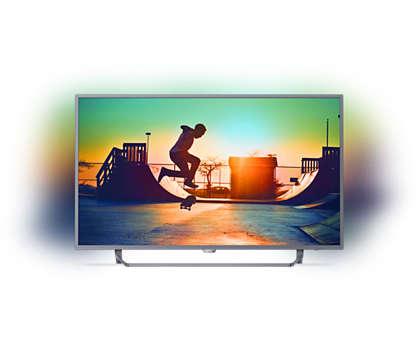Ultraslanke 4K Smart LED-TV