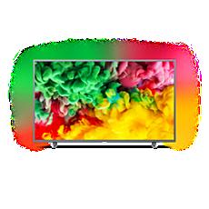 50PUS6703/12  Ultraflacher 4K-UHD-LED-Smart TV