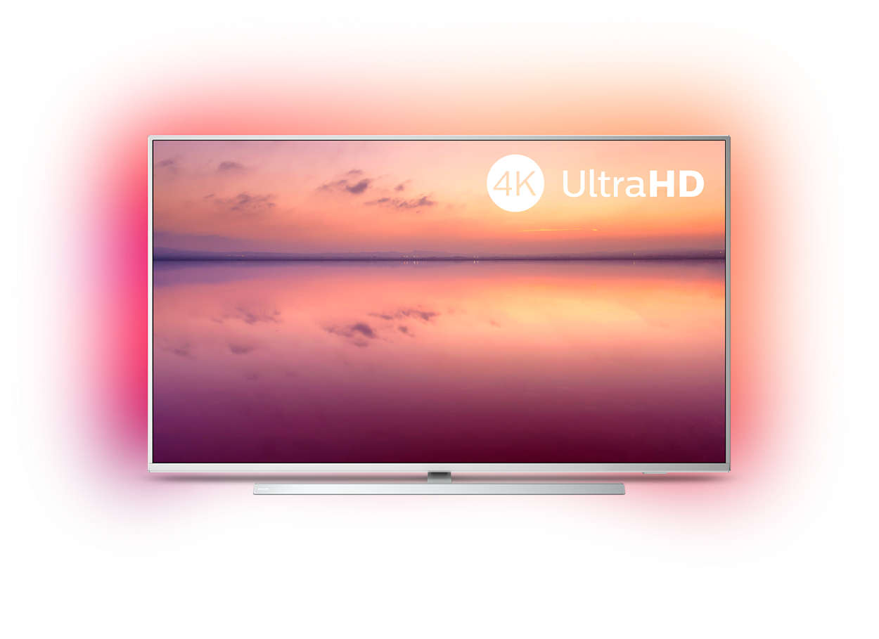Smart LED-TV med 4K UHD