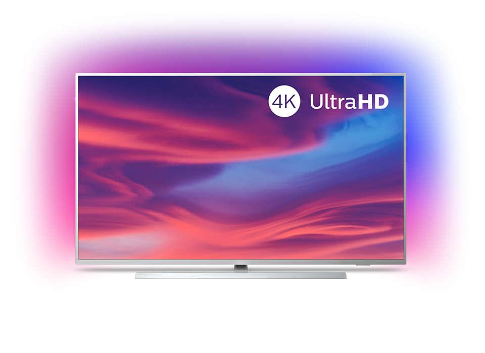 Téléviseur Android 4KUHD LED