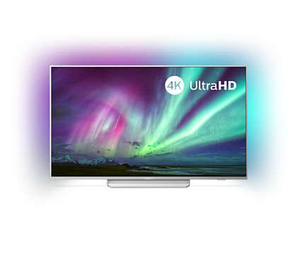 Televizor 4K UHD se systémem Android