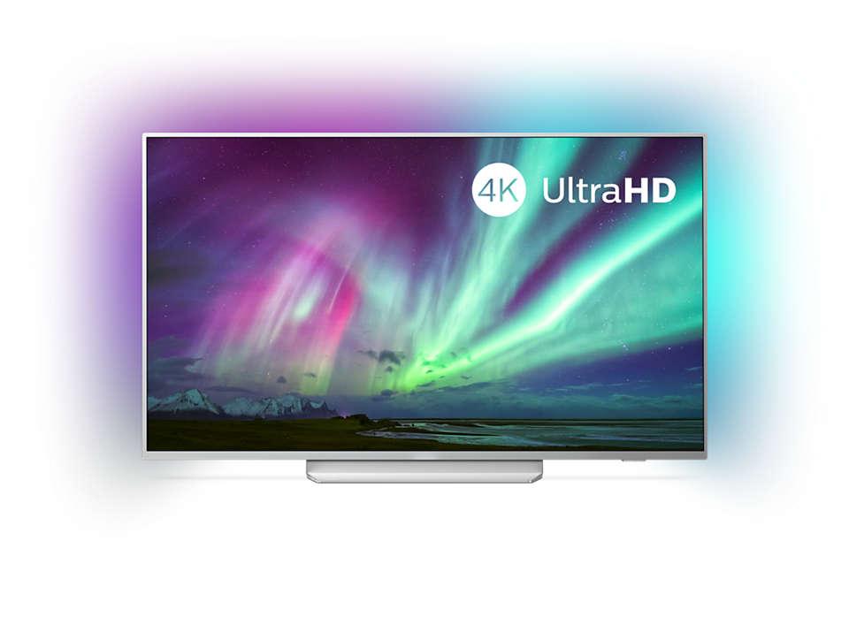 4KUHD Android televizors