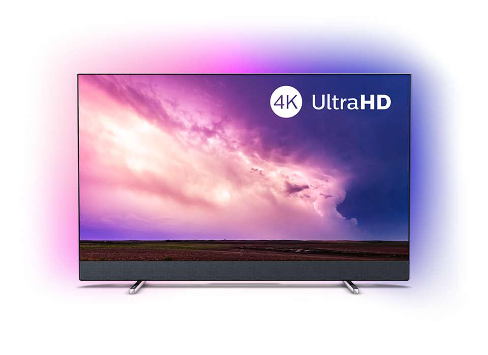 Téléviseur 4K SmartTV, un son par Bowers&Wilkins