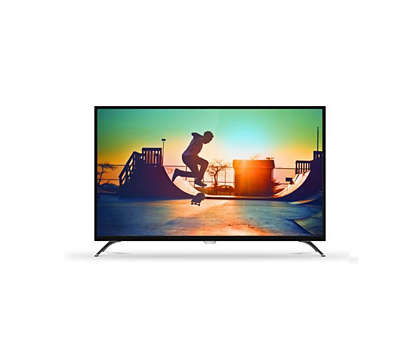 TV LED Cerdas 4K Ultra Tipis