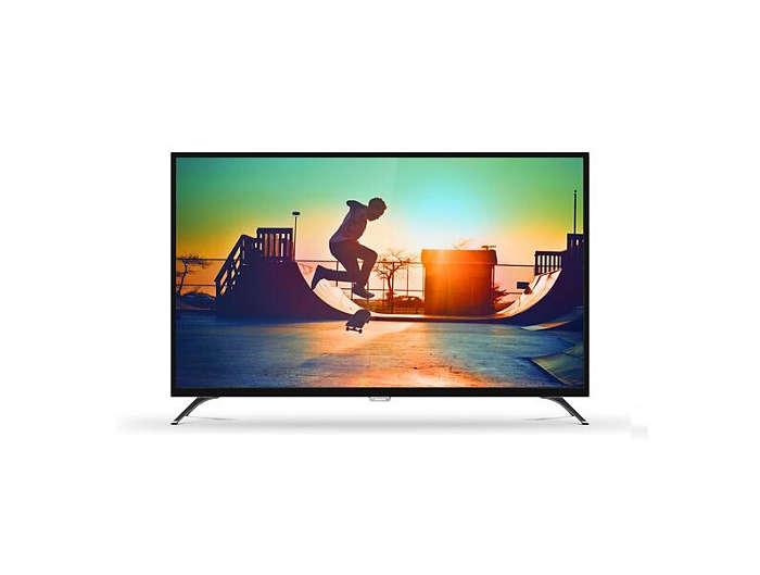 6000 series 4K Ultra Slim Smart LED TV