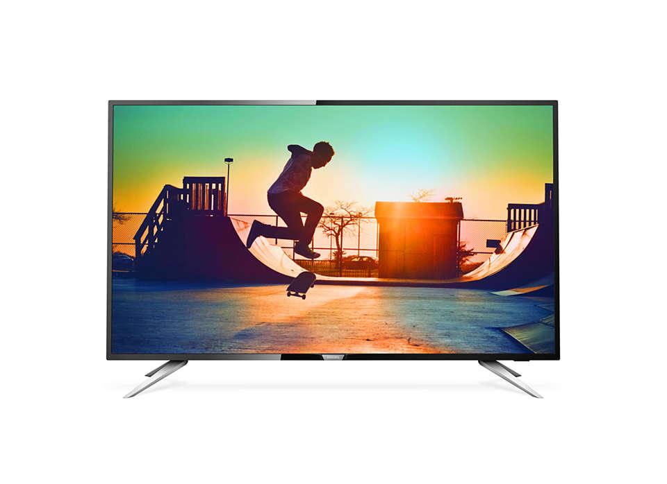 4K Ultra Slim Smart LED TV 50PUT6102/98 | Philips