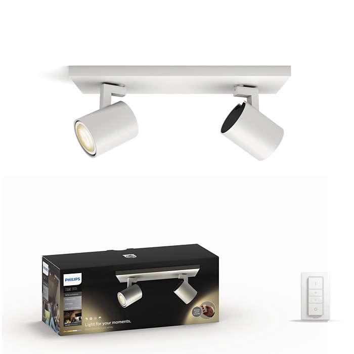 Créez votre atmosphère avec un éclairage orientable