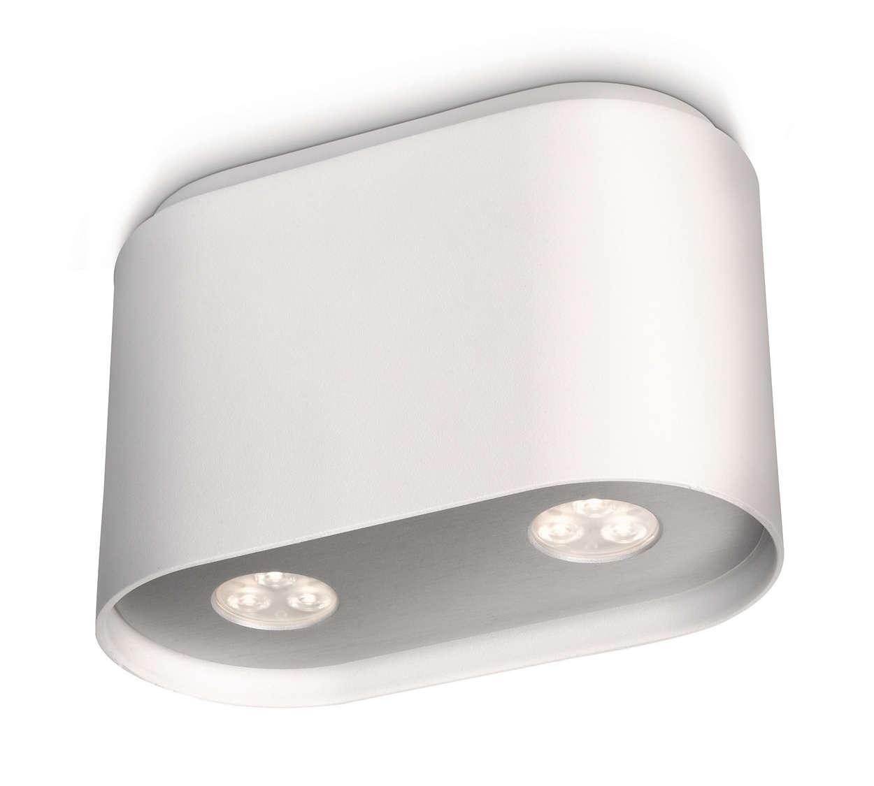 spotlamp 531623116 philips. Black Bedroom Furniture Sets. Home Design Ideas