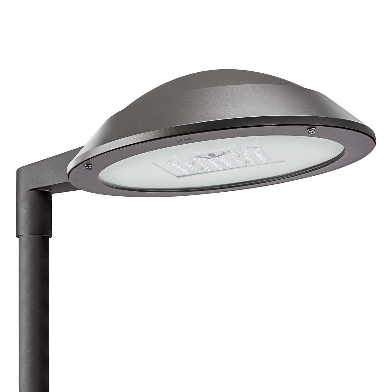 Design simplu pentru un corp de iluminat adaptabil