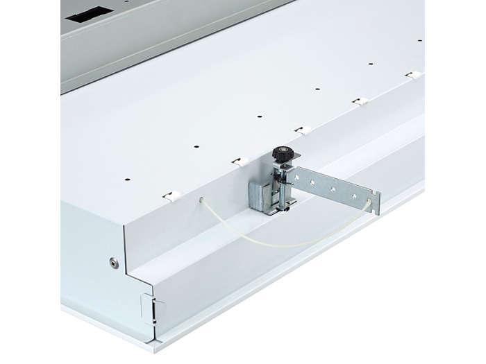 Enables mounting in concealed grid ceiling (CPC)/plaster board ceiling (PCV)