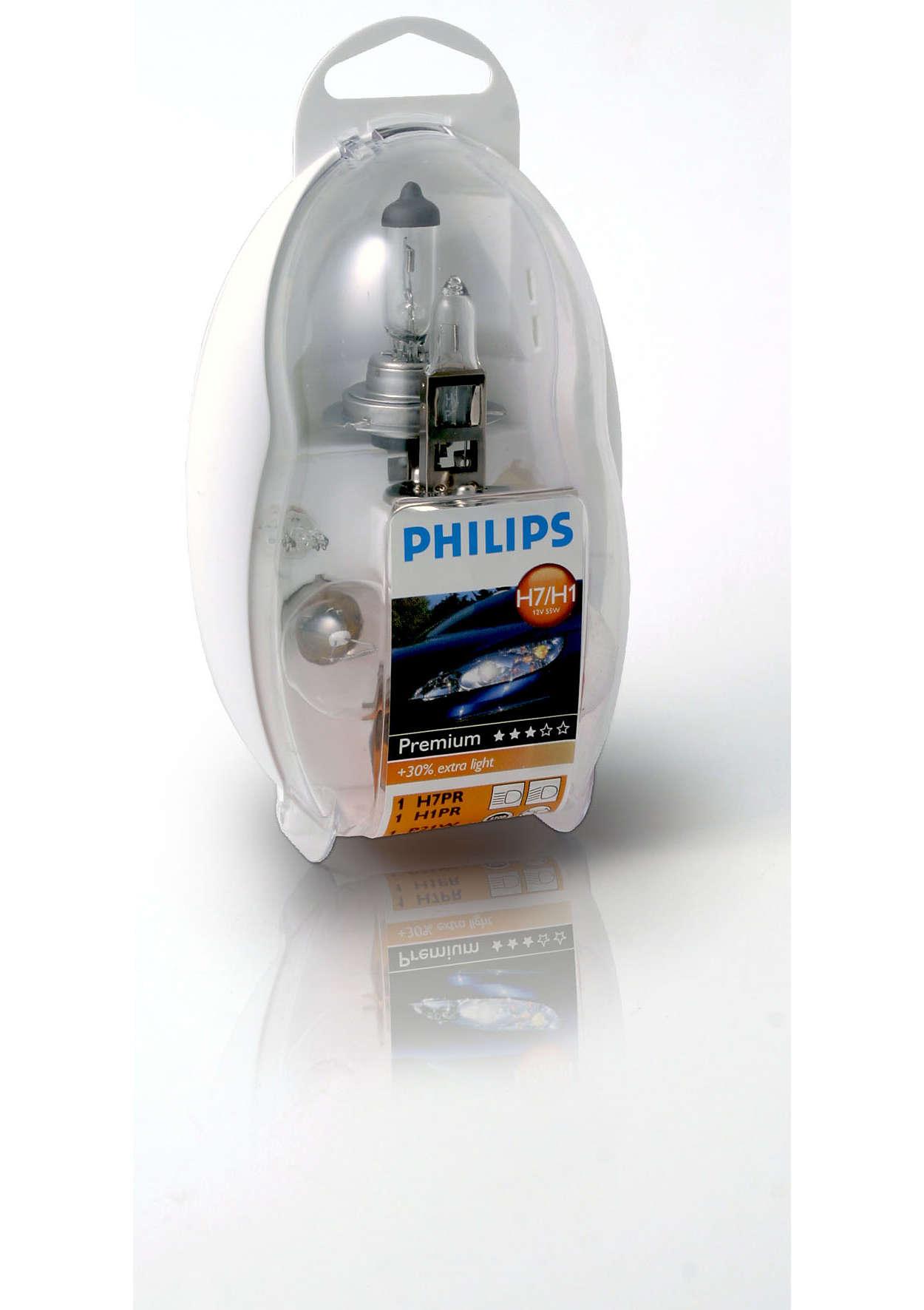 Весь необходимый комплект ламп в одном наборе