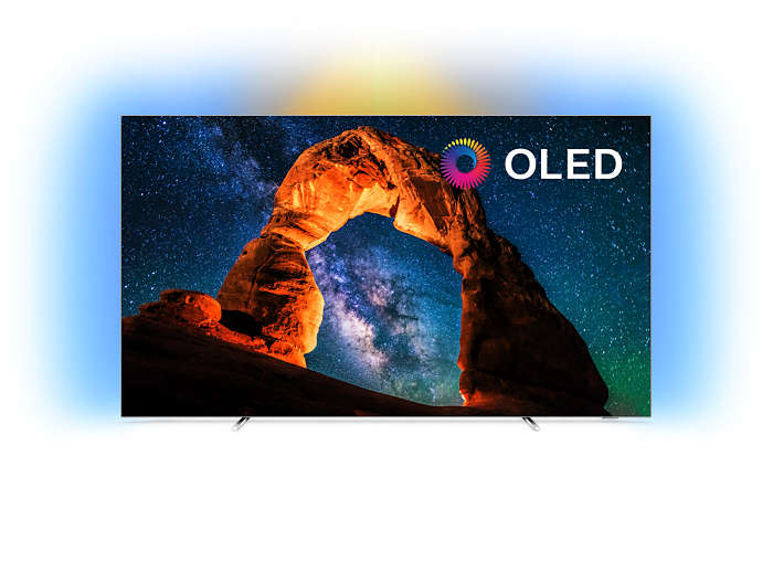 Android TV 4K OLED Ultra HD plano