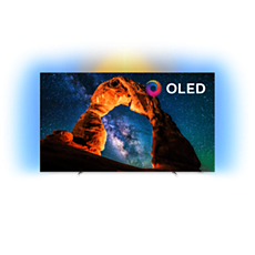 55OLED803/12  Téléviseur Android ultra-plat 4KUHD OLED
