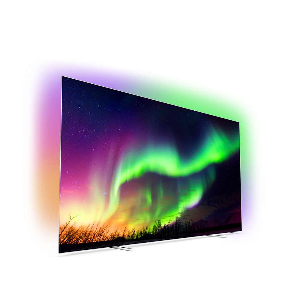 4K 纤薄 OLED 智能电视