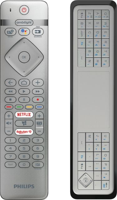 Philips 2019: OLED804/OLED854 - Fernbedienung