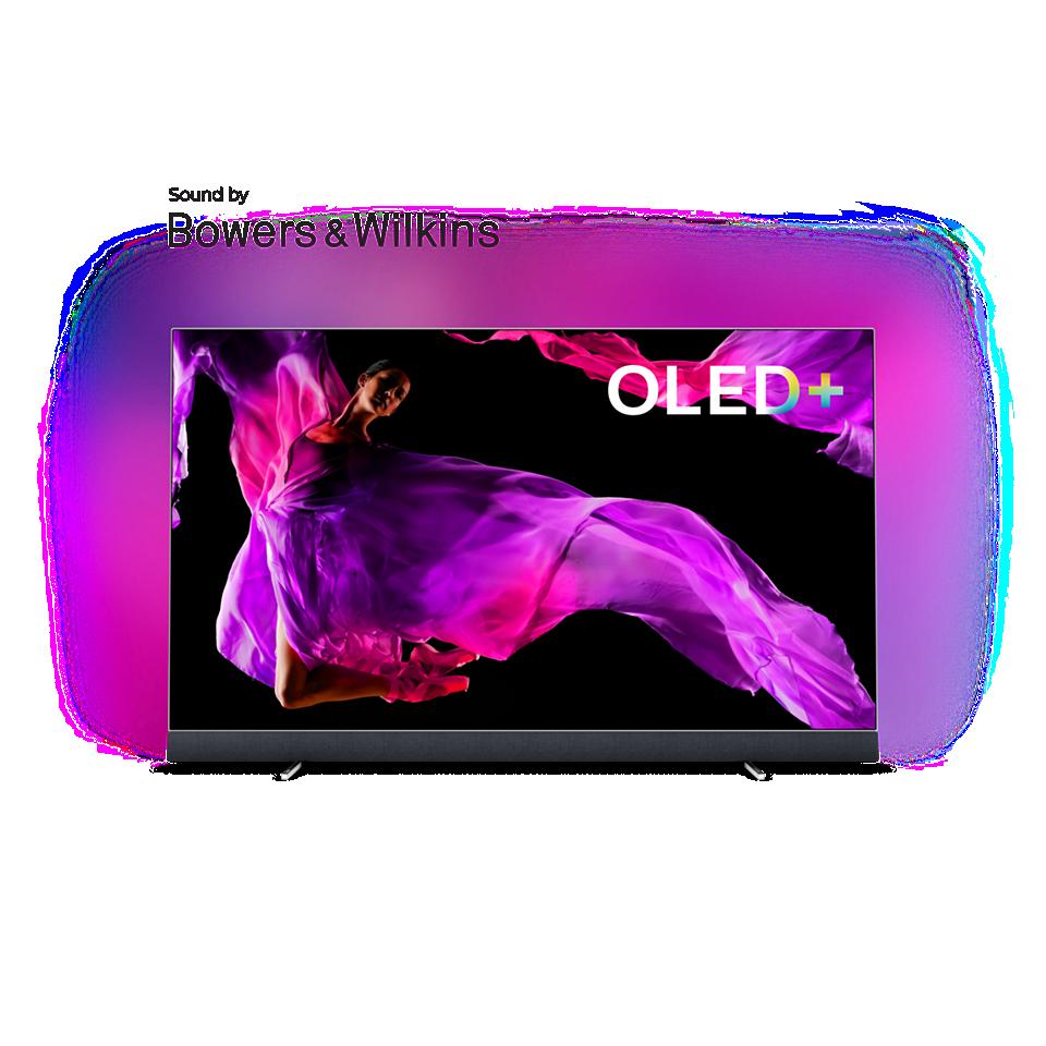 OLED 9 series OLED+ 4K TV-geluid door Bowers & Wilkins