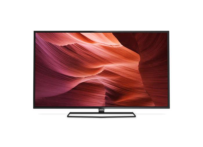 Smukły telewizor LED Full HD z systemem Android
