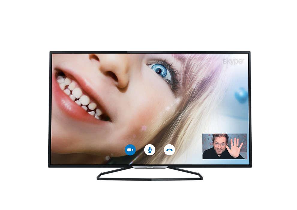 Slanke Full HD LED-TV
