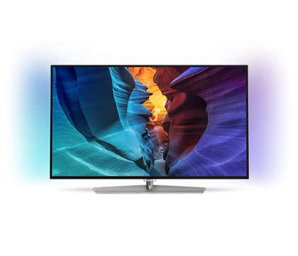 Ultraflacher Full-HD LED-Fernseher