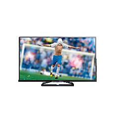 55PFK6409/12  Flacher Smart Full HD-LED-Fernseher