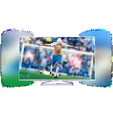 55PFK6609/12 -    Flacher Smart Full HD-LED-Fernseher