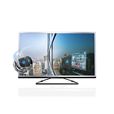 55PFL4508H/12  Ultraflacher 3D Smart LED-Fernseher