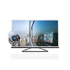 55PFL4528T/12  Ultraflacher 3D Smart LED-Fernseher
