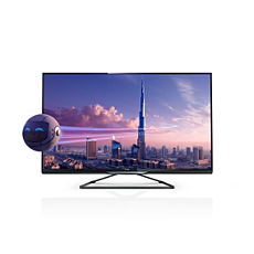 55PFL4908K/12  Ultraflacher 3D Smart LED TV