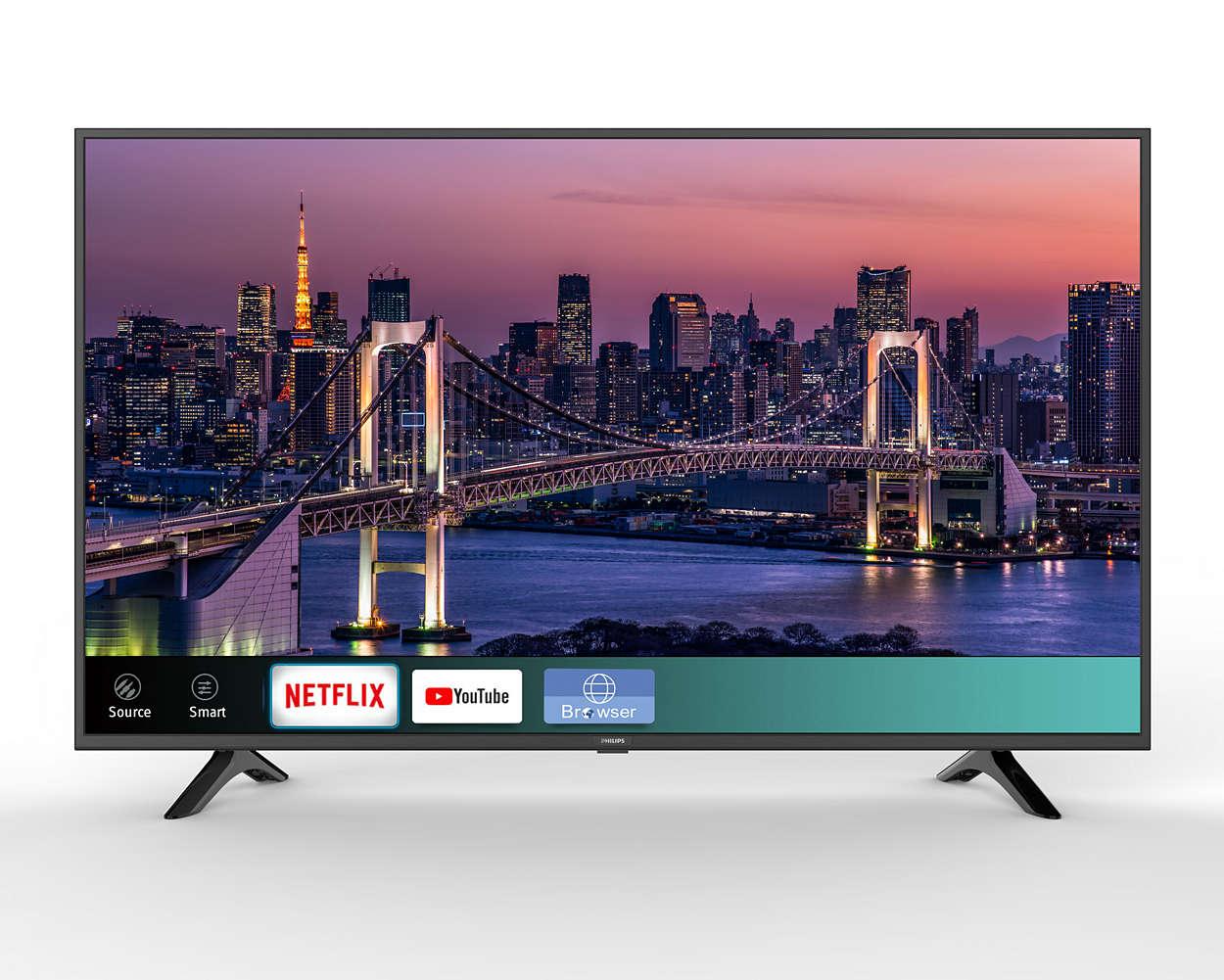 Smart 4K Ultra HDTV