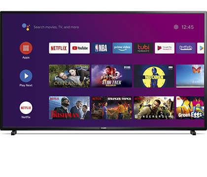 AndroidTV 4K avec Assistant Google