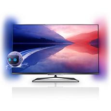 55PFL6008K/12 6000 series Ultraflacher 3D Smart LED-Fernseher