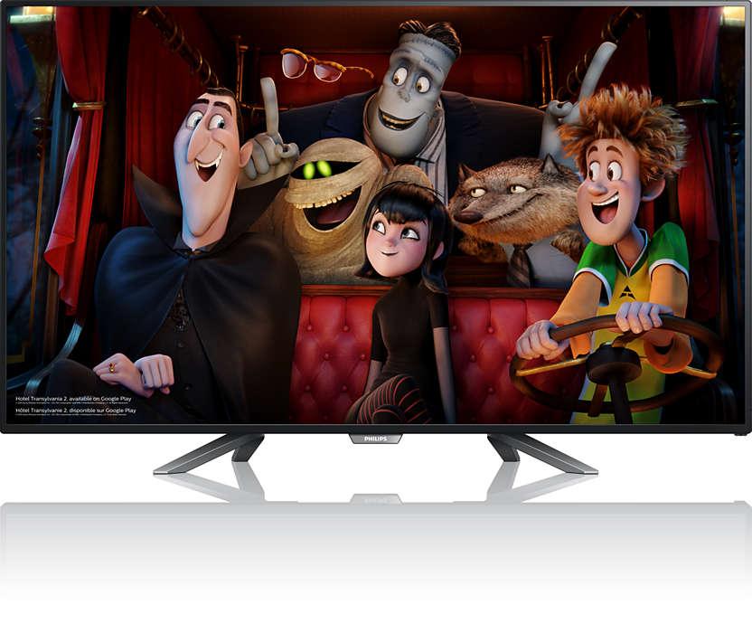 Téléviseur Google Cast™