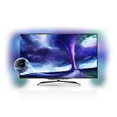 55PFL8008S/12 -    Ultraflacher Smart LED-Fernseher