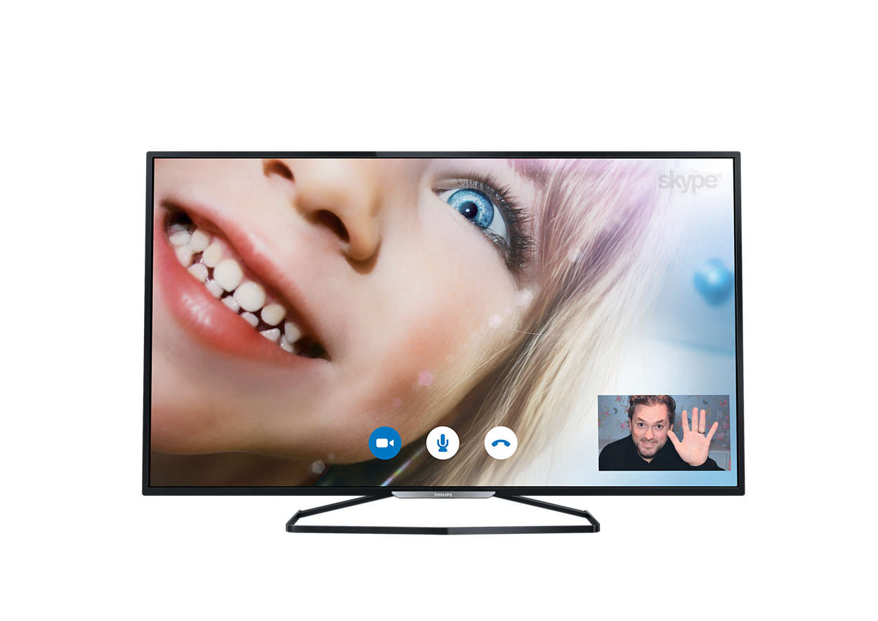Tenký LED televízor srozlíšením Full HD