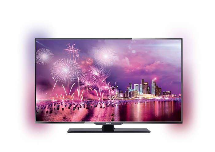 TV màn hình LED chuẩn nét cao nhất
