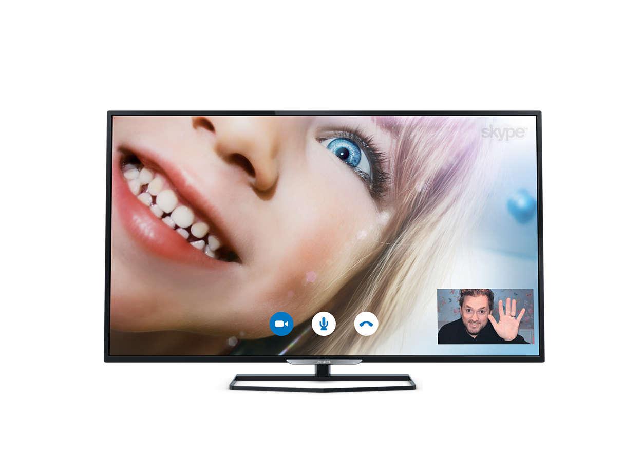 Λεπτή τηλεόραση Full HD LED