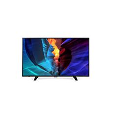 55PFT6100/56  دقة Full HD، Smart LED TV رفيع
