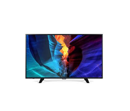 دقة Full HD، Smart LED TV رفيع