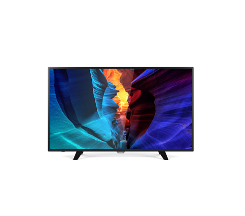 full hd smart slim led tv 55pft6100 98 philips