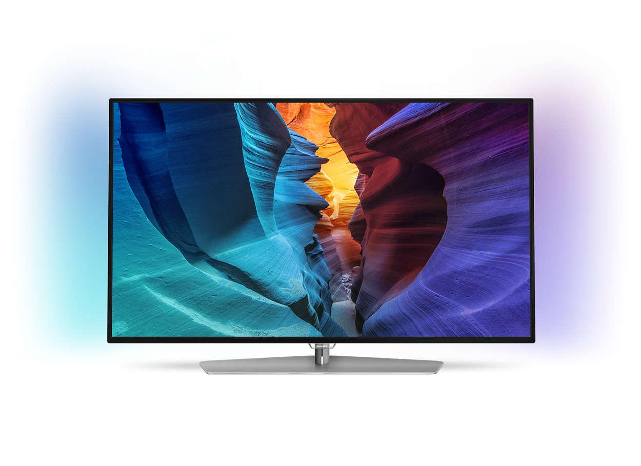 Svært slank LED-TV med Full HD